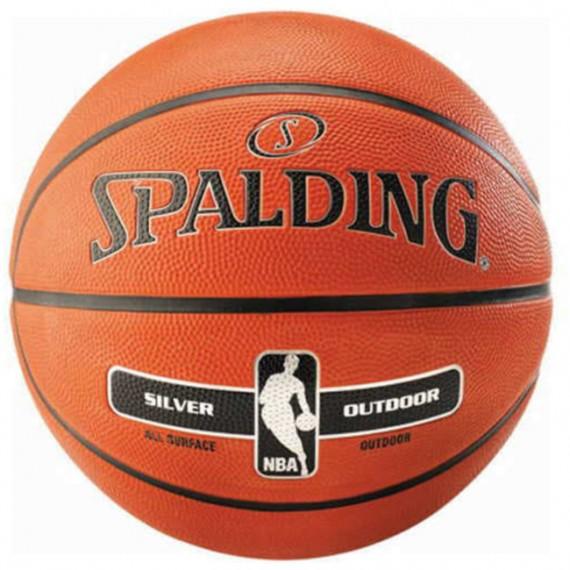 NBA Silver Outdoor Basketball